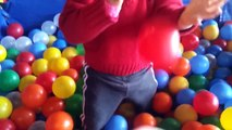 COOL Ball Pit Monster Trucks, Hot Wheels, Playground, TRAINS, Dinosaurs, Colors for Children,