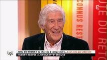 Le biologiste Joël de Rosnay présente son dernier livre : «Je cherche à comprendre...»