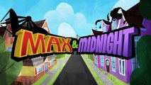 MAX IN MINECRAFT! Will his Family save him _ Cartoons For Kids! Max & Midnight Episode 10