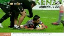 Rugby Top 14 : Les Lyonnais s'inclinent face à Clermont