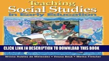 EPUB DOWNLOAD Teaching Social Studies in Early Education (Early Childhood Education) PDF Online