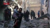 Siria: raid su Aleppo, decine di vittime civili