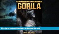 {BEST PDF |PDF [FREE] DOWNLOAD | PDF [DOWNLOAD] Gorila: Libro de imágenes asombrosas y datos
