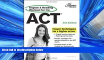 READ book  English and Reading Workout for the ACT, 2nd Edition (College Test Preparation)  BOOK