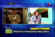 Callao: realizan operativo contra panaderías insalubres