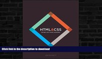 READ  HTML and CSS: Design and Build Websites FULL ONLINE