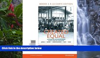 Buy Jacqueline Jones Created Equal: A History of the United States, Volume 2, Books a la Carte