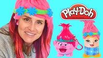 TROLLS Radz and Play Doh Crazy Cuts Poppy Makeover | Dreamworks Movies
