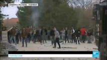 Europe migrant crisis: Bulgarian police fire rubber bullets in camp riot