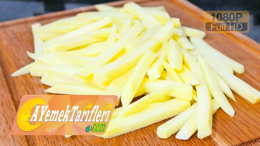 Patates Nasıl Kesilir?   Kızartmalık Patates Nasıl Kesilir?