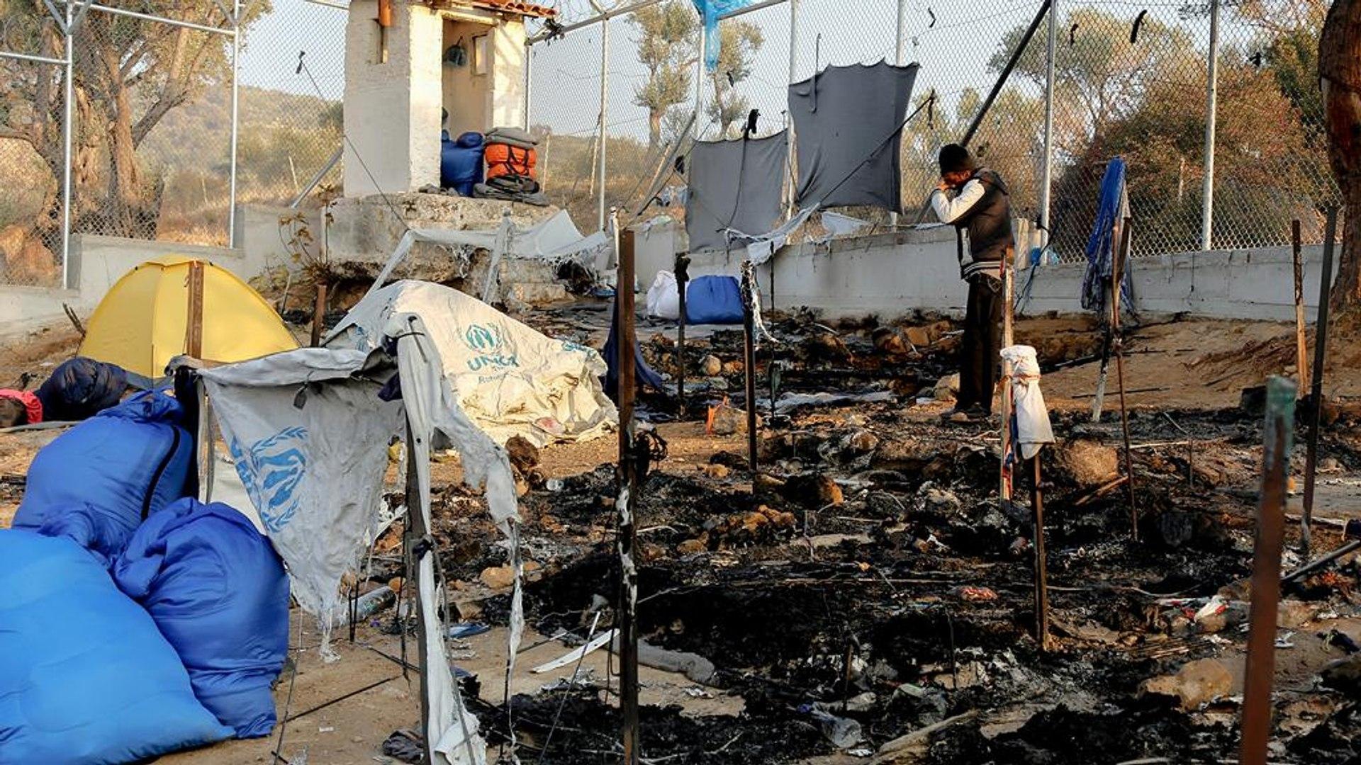 Grécia: Morte de dois refugiados inflama protestos no campo de Moria