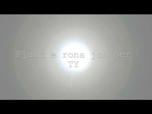 K-one - Sonte (Official Videolyrics 2016)