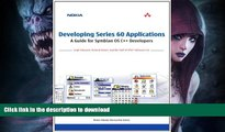PDF Download] Developing Series 60 Applications: A Guide for