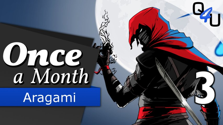 Aragami - Once a Month November 2016 (3/3) | QSO4YOU Gaming