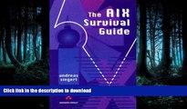 FAVORITE BOOK  The AIX Survival Guide  GET PDF