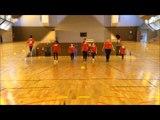 Concours Flashmob UNSS Championnat du monde de handball 2017, collège JOLIMONT, Toulouse