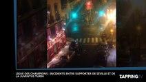 Ligue des champions - Séville / Juventus : Incidents entre supporters, un blessé grave  (Vidéo)