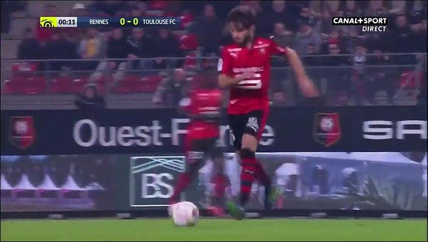 25/11/16 : Yoann Gourcuff (1') : Rennes - Toulouse