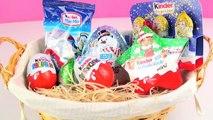 Kinder Surprise Gift Set Crazy Christmas Ferrero Santa Claus Kinder Mini Mix & Maxi Surprise Egg