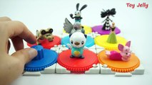 Color Balls Surprise Cups Pokemon Go toys, Diseny Surprise Eggs, Frozen, Piglet , Oswald Rabbit
