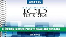 [READ] Mobi ICD-10-CM 2016: The Complete Official Draft Code Set (Icd-10-Cm the Complete Official