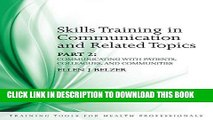 [READ] Mobi Skills Training in Communication and Related Topics: Pt. 2 (Training Tools for Health