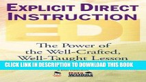 [PDF] Explicit Direct Instruction (EDI): The Power of the Well-Crafted, Well-Taught Lesson Full