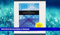 READ  Operations Management (McGraw-Hill/Irwin Series Operations and Decision Sciences)  BOOK