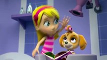 Paw Patrol Rescue Kidnapped Caged Pets on Rooftop with Robo Dog .Cartoon Kids