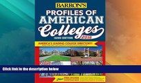 Best Price Profiles of American Colleges 2016 (Barron s Profiles of American Colleges) Barron s