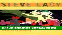 Books Steve Lacy: Conversations Download Free