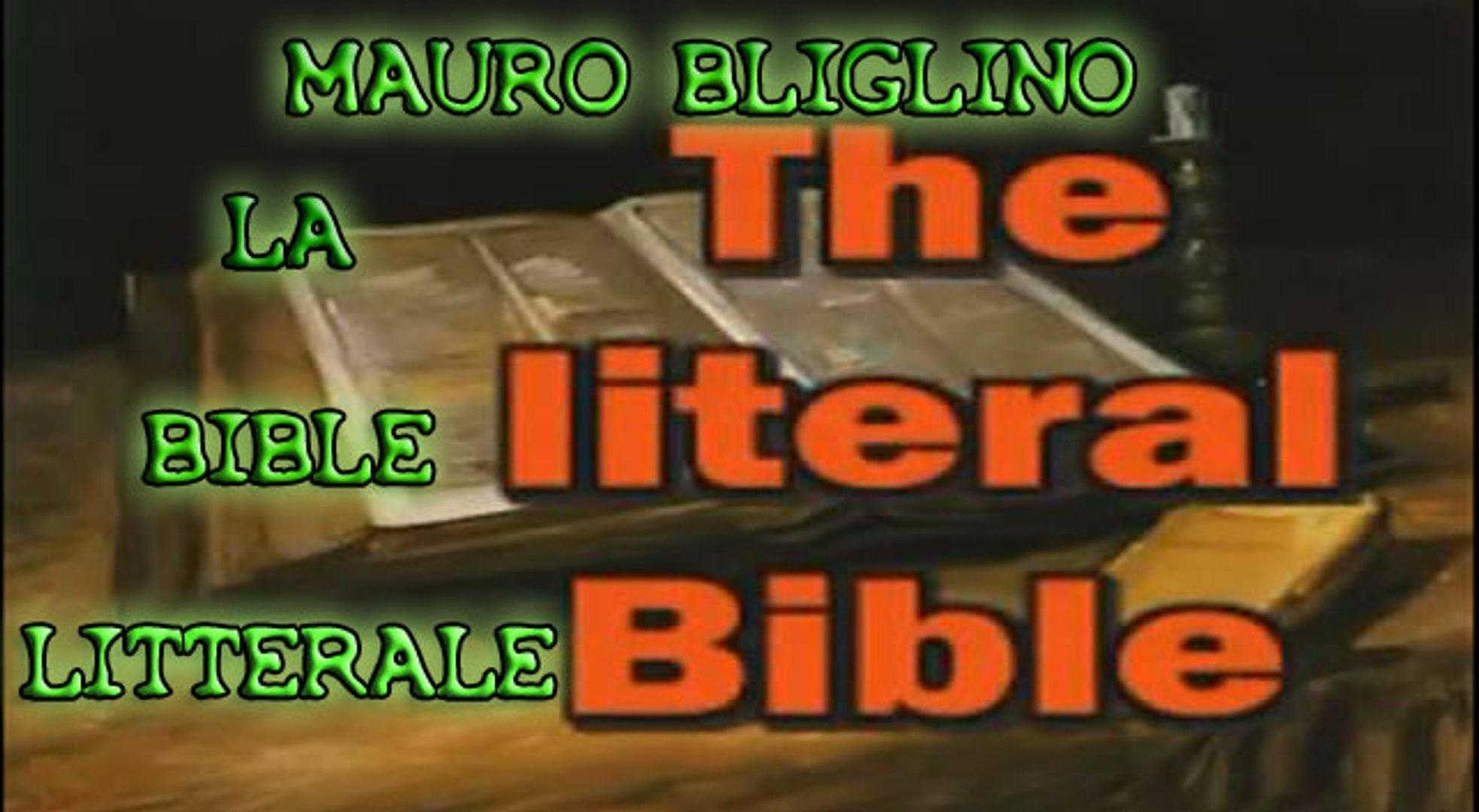 Mauro Biglino: la Bible littérale (Partie 1)