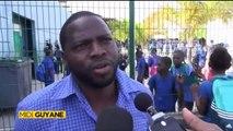 Interview réalisée par ma nièce Alice pour midi 1ère Guyane- Collège, des enseignants mobilisés pour la sécurité