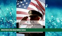 READ THE NEW BOOK U.S.A. Constitution Founding Fathers Hardcove