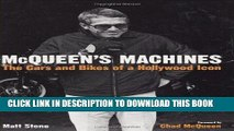 [PDF] Epub McQueen s Machines: The Cars and Bikes of a Hollywood Icon Full Online