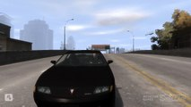 GTA IV Shenanigans: Ramping Cars on Topaz St