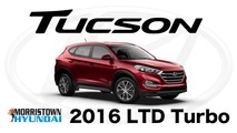 2016 Hyundai Tucson Limited Knoxville, TN - Interior, Space, Turbo at Morristown Hyundai