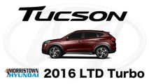 2016 Hyundai Tucson Limited Knoxville, TN - Safety, Space, Exterior, at Morristown Hyundai