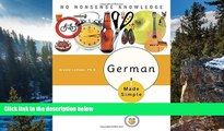 Online Eugene Jackson German Made Simple: Learn to Speak and Understand German Quickly and Easily