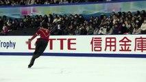 NHK2016 Nathan CHEN FS