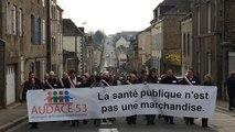 1000 manifestants pour défendre l'hôpital