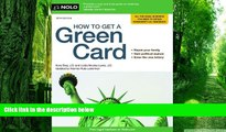Price How to Get a Green Card Ilona Bray J.D. For Kindle