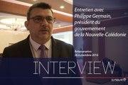 [REPORTAGE] Entretien avec Philippe Germain, président du gouvernement de la Nouvelle-Calédonie