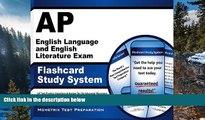 Buy AP Exam Secrets Test Prep Team AP English Language and English Literature Exam Flashcard Study