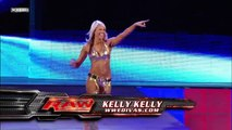 Kelly Kelly, Ted DiBiase and Cody Rhodes Segment
