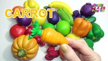 Learn Names Of Fruits And Vegetables With Toy Kids Learning Fruits Vegetables Preschool Learning Video Dailymotion