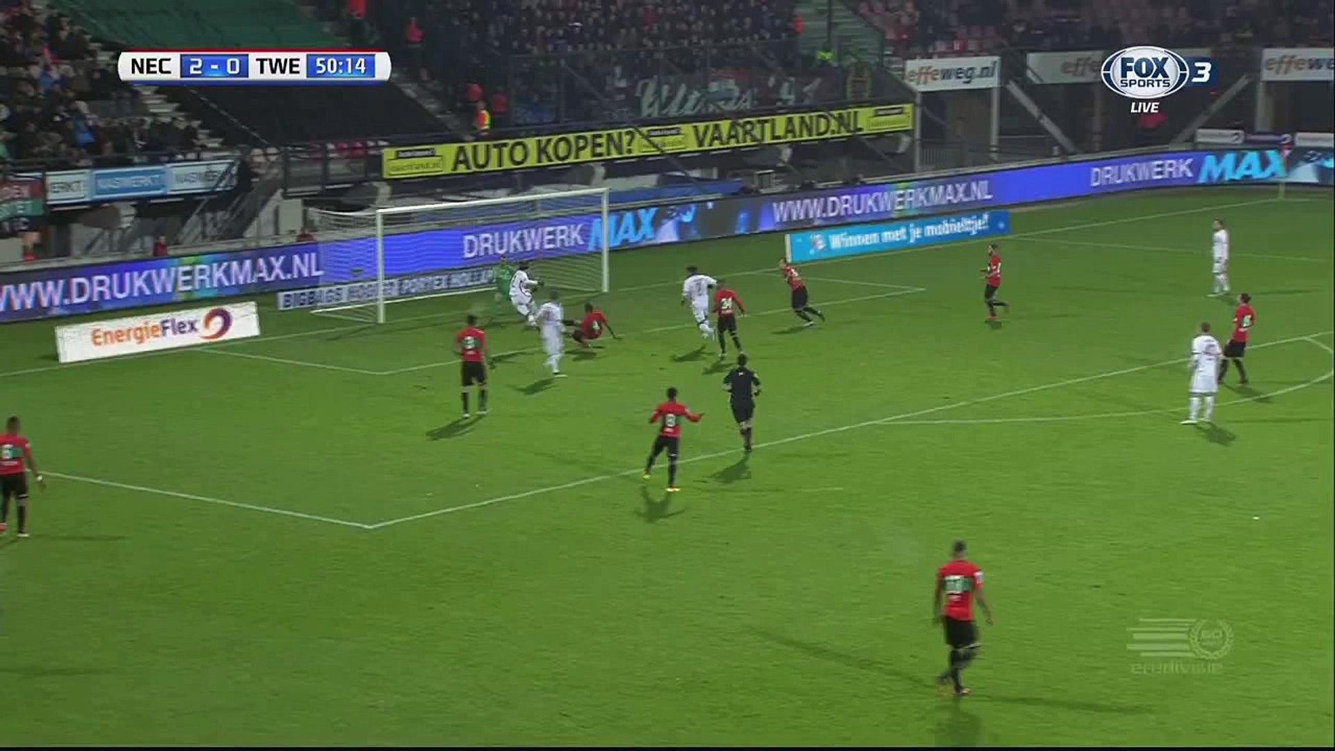 Enes Unal Goal HD - Nijmegen 2-1 Twente - 26.11.2016