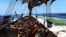 Assassin's Creed IV Black Flag - Epic NO HUD Gameplay (Naval Combat & Ship Boarding) - 1080p Ultra