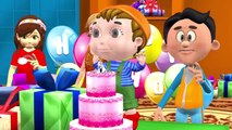 Happy Birthday Song | Happy Birthday To You | Birthday Song for Kids Ozu Animal Finger Family Rhymes