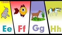 a is for apple b is for ball c is for cat d is for dog Phonics Songs for Children